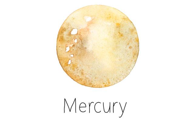 水星 真木あかりの惑星逆行カレンダー
