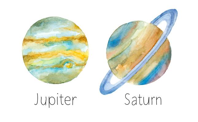 木星、土星 真木あかりの惑星カレンダー
