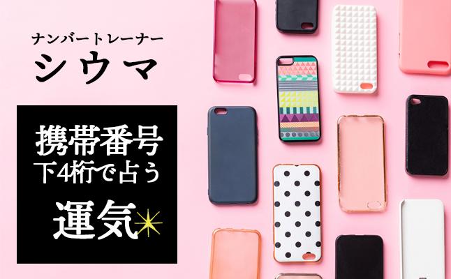 ナンバートレーナー・シウマの携帯番号占い【無料占い】